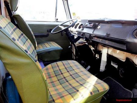 Registrostorico It Auto Epoca Volkswagen T2 Westfalia 1977